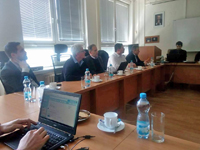 Meeting of the Defence & Strategy journal's Editorial Board