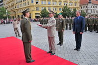 University of Defence Graduation Ceremony in City Centre for the First Time