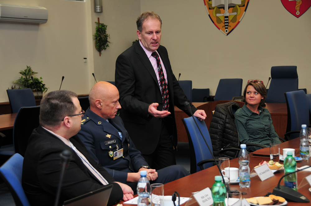 they also received information on the education system within the career courses for czech military
