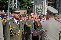 University of Defence 2019 Graduates Commission in Brno City Central Square