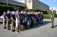 Newbies Arrived at Basic Military Training