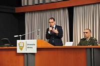 Ambassador of France Lectures at the University of Defence