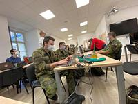 A Hundred of University of Defence Students Prepare Smart Quarantine Launch