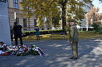 University of Defence Marks Czechoslovakia Foundation Anniversary