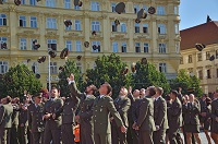 150 Graduates Leave University of Defence Going to Units